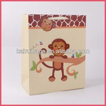 custom paper bags & decorative paper carrier bag for baby