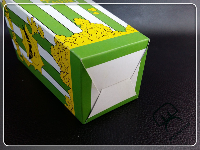 Popcorn packing box paper popcorn box
