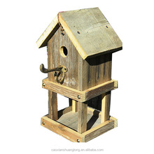 Rustic Wooden bird House - Model BB1