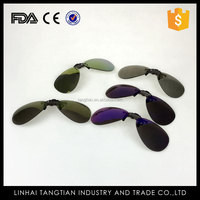 TTY-1107 Laura fairy first class new designer high quality wholesale metal clip on sunglasses clamping piece glasses
