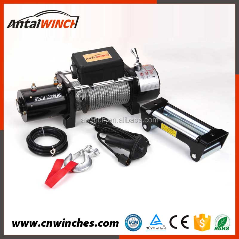 12000lbs Badland Electric 4WD Winch,winch 4x4 12v
