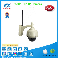 New MINI speed PTZ MegaPixel IP Dome Camera, Outdoor 2.8-12mm IP camera