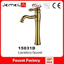 2015 hot sale foot operated tap basin faucet
