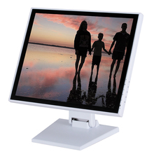 OEM Design PC Computer 17 inch LCD Monitor with DC 12V Solar Power Supply