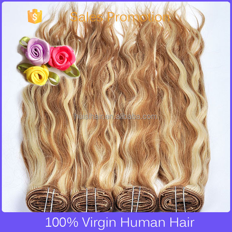 Most popular large demands triple weft spiral curl wigs 150g/pcs clip in hair