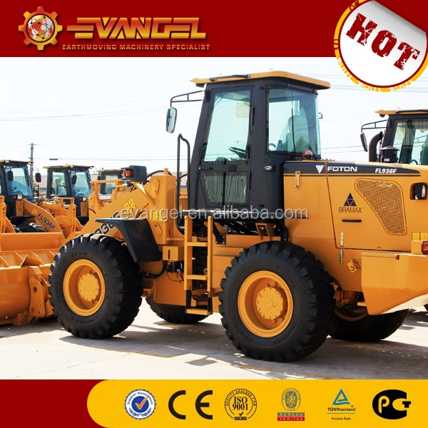 wheelloaders exporting new wheel loader Foton Lovol 936
