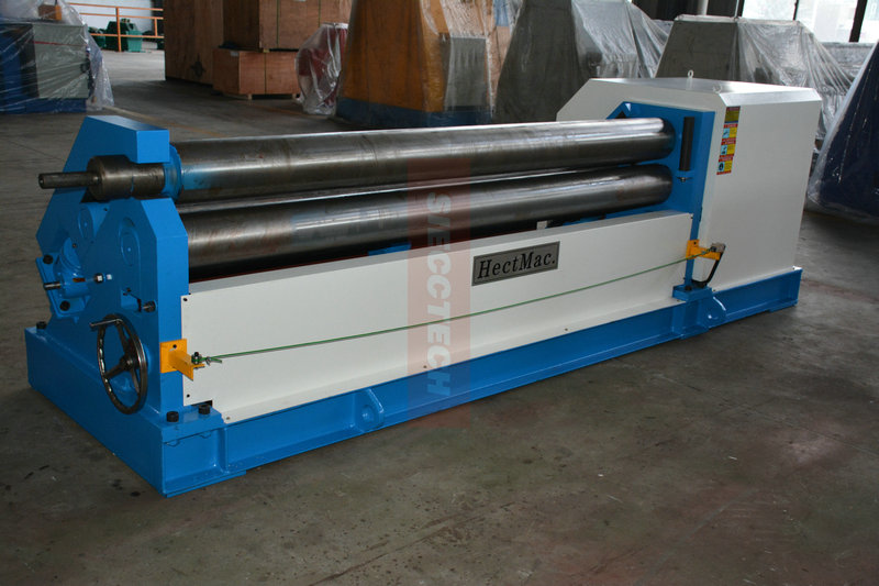 Hot sale W11 25*2500MM cone rolling machine stainless steel pipe rolling machine