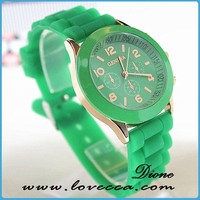 Women watches Geneva Watch !!Wrist Watch Candy Colors,2015 Hot sale!