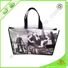Pictures Printing Shopping Non-Woven Fabric Bag