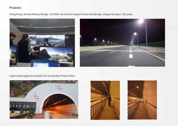 Smart City LED Street Lighting Control & Management System
