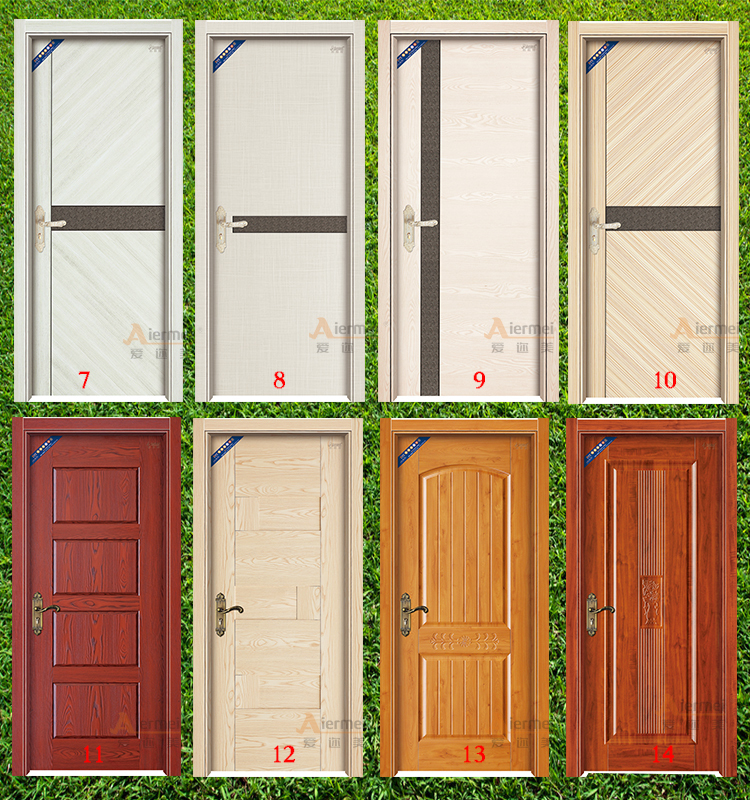 China price hospital office apartment wooden interior door for Office main door design