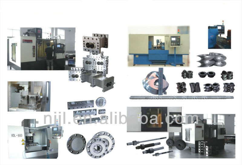 Biodegradable Granule Extruder PLA/PBAT compounding Extruder PP/PE+Corn Starch compound Extruder