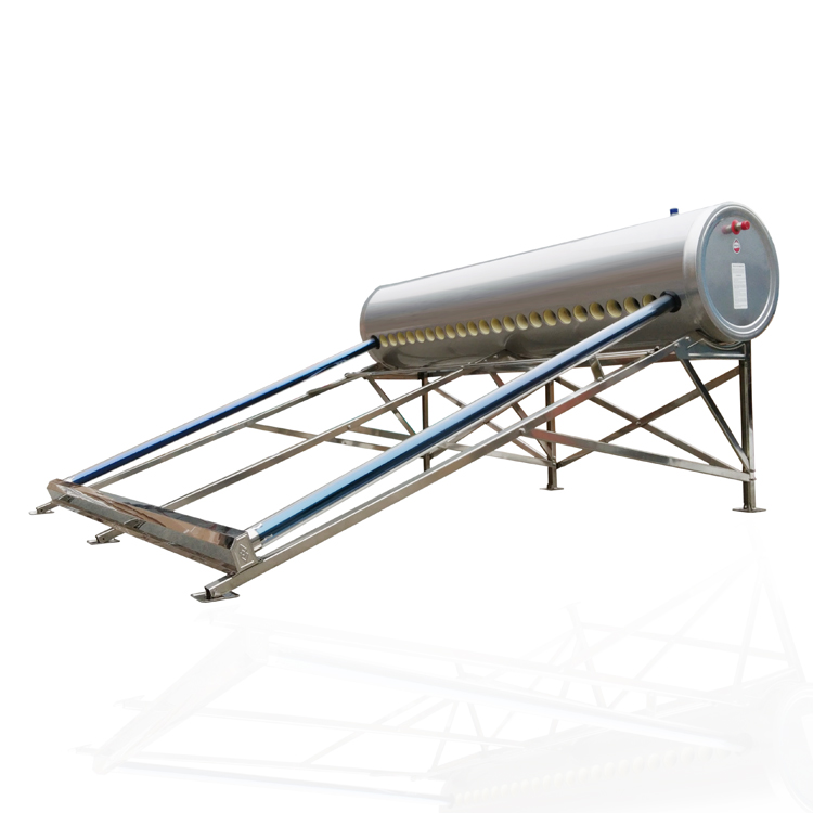 10 12 15 18 20 24 30 tubes stainless steel solar water heater (240l)