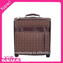 XBL luggage bags 2016 high quality Proprietary fabrics polo luggage trolley case for men and women