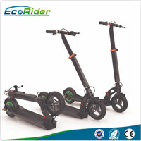 Best 2 wheel stand up smart folding self balance electric kick scooter