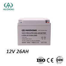 UPS battery 12v 26ah sealed lead acid solar panel battery