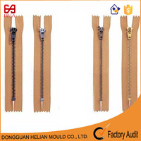 #3 pull tab zipper head spring lock zipper manufacturing process