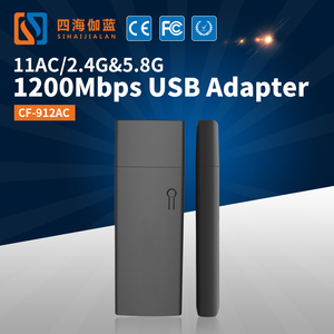COMFAST CF-912AC Long Range 2.4G&5.8G External Antenna Android USB Wifi Dongle Wireless USB Network Adapter