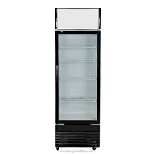 electronic glass door commercial mini pepsi display cooler