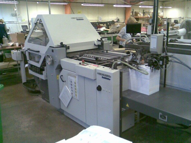 2001 Heidelberg Stahl Ki55 4KTL Folding Machine