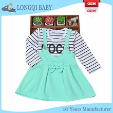 QZ-MS-001 handmade fashion baby girl dress wholesale