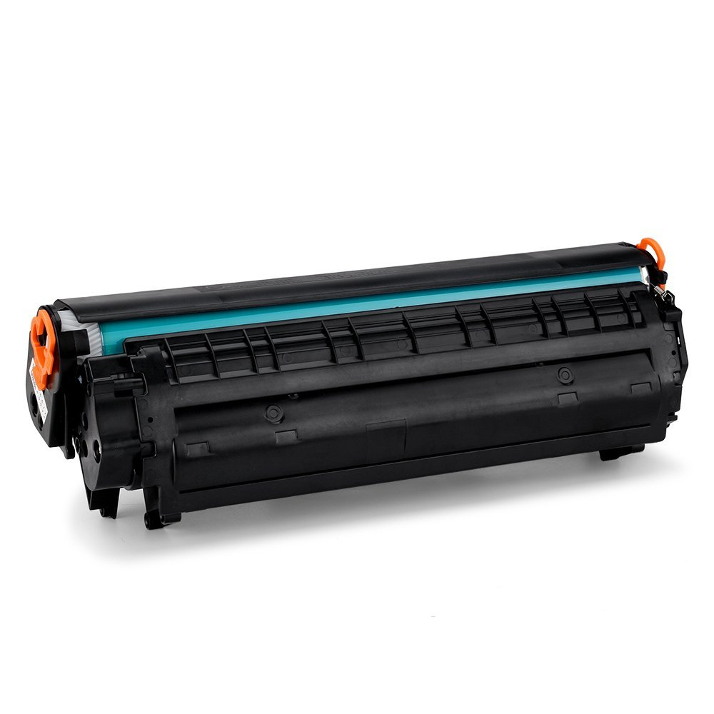 Compatible Replacement Laser Toner Cartridge for Hewlett Packard CB435A (HP 35A) Black for use in HP Laserjet P1002, P1005, 2Pcs
