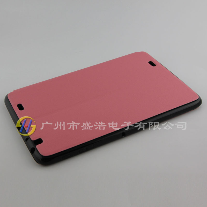 Shine design leather cover for LG G PAD 10.1 V700 back case