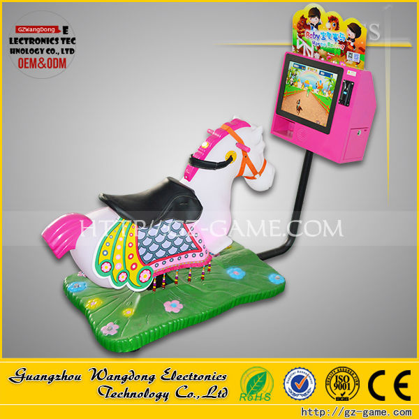 Chinese kids games, kids car games, kids horse ride designs for supermarket