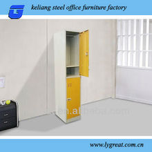 GLT-10X-048 modern design 2 door metal clothes locker furniture