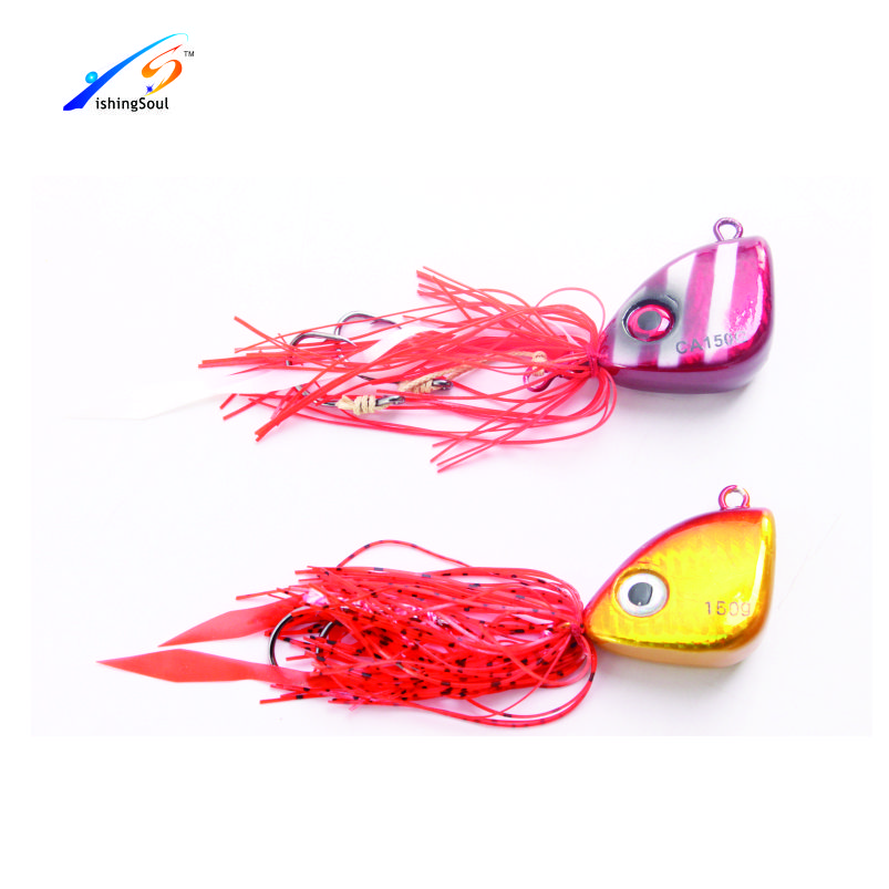 RJL014 Wholesale artificial bait fishing lure hard rubber fish lure
