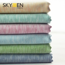 Practical and beautiful hot 100% organic soft textile cotton garment cloth shirting fabric