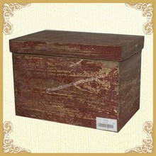Interior Distressed Storage Trunk Design
