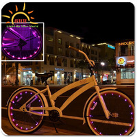 Rechargeable bicycle led light,led bicycle bike light , led bicycle wheel spoke string light