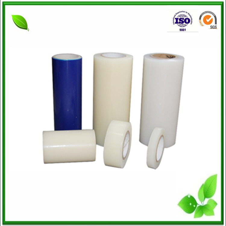 good quality pe transparent glass protective film