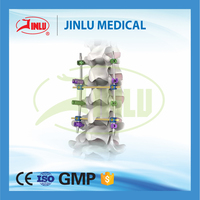 ISO 13485 certificated Spine titanium orthopedic implants spinal orthotics