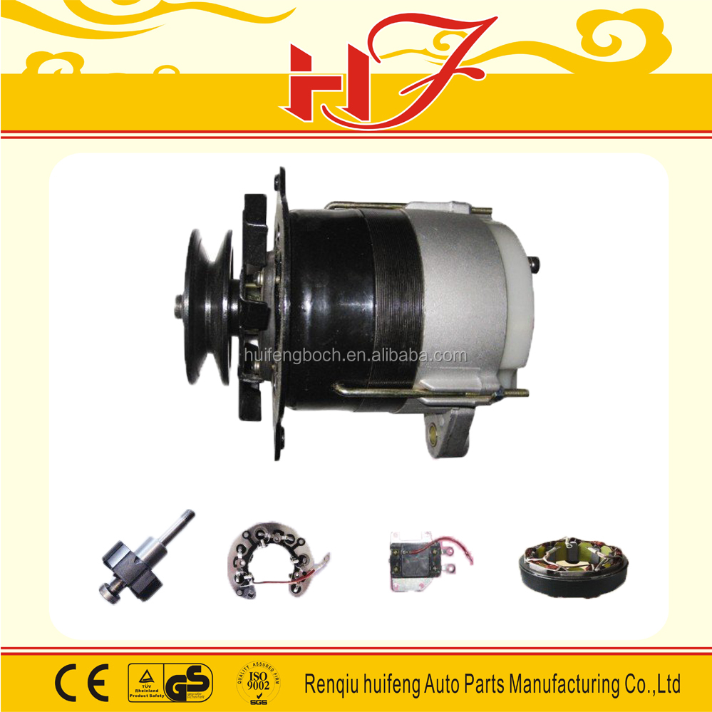 2017 popular spare parts motorcycle alternator for Russia market