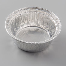 High quality Aluminum foil tray box Silver Aluminum foil container for food
