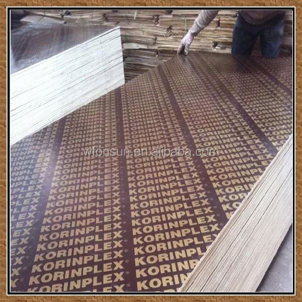discount reliable quality chinses construction marine plywood for construction