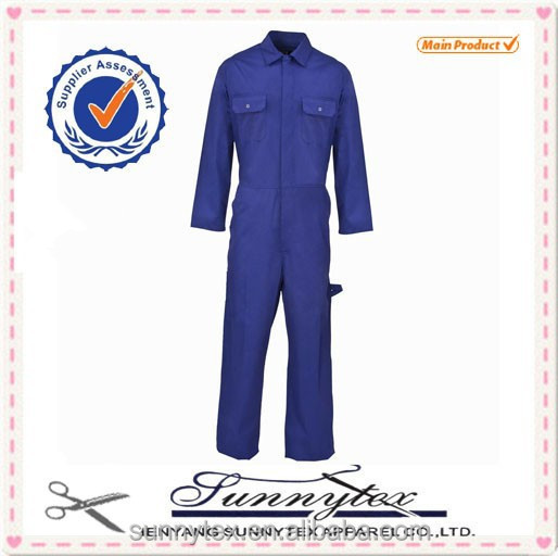 Sunnytex Industrial Factroy Unisex New Design Bright Colored Overalls