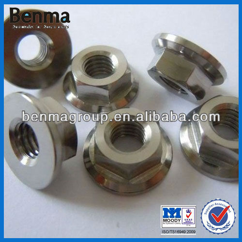 Chinese Gr5 motorcycle nut manufacturer,motor parts titanium bolts and nuts for motorcycle,with top quality