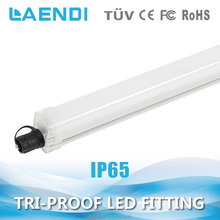 Hot sale 24w industrial 1500mm tri-proof led waterproof light japanese black tube