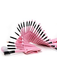 New Design Lady makeup brushes professional 32pcs makeup brush set free sample