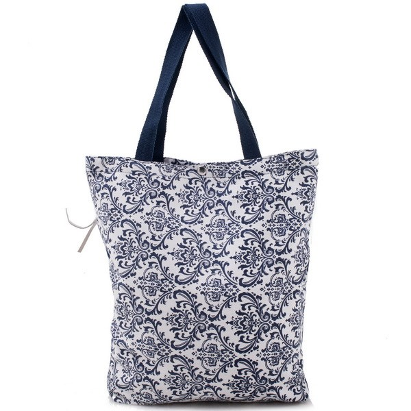 2016 New pattern canvas bags canvas tote bag