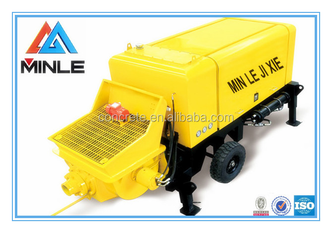 China Supplier stationary trailer Putzmeister concrete injection pump HBTS40-10-45