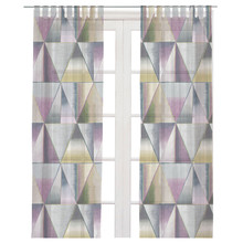 Printing design bathroom curtains blackout curtain printed window