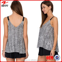 Chevron print women's clothing manufacturers clothing in turkey