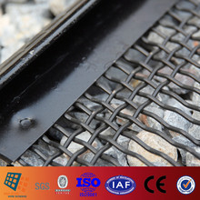 #909 Carbon Steel and PU High Performance Self Cleaning Screens for Vibrating Screen Equipment