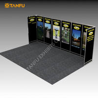 TANFU Exhibition Booth PVC Panels