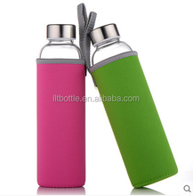 High-quality Glass Water Bottle for Healthy Drinking with Unique and Stylish Design
