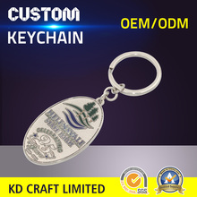 Made in china custom gold logo metal silver plated country military army minions keychain